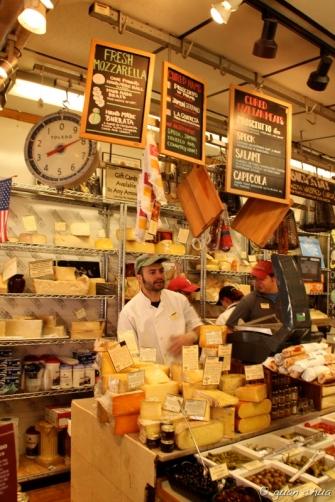 Di Bruno Cheese counter - Italian Market